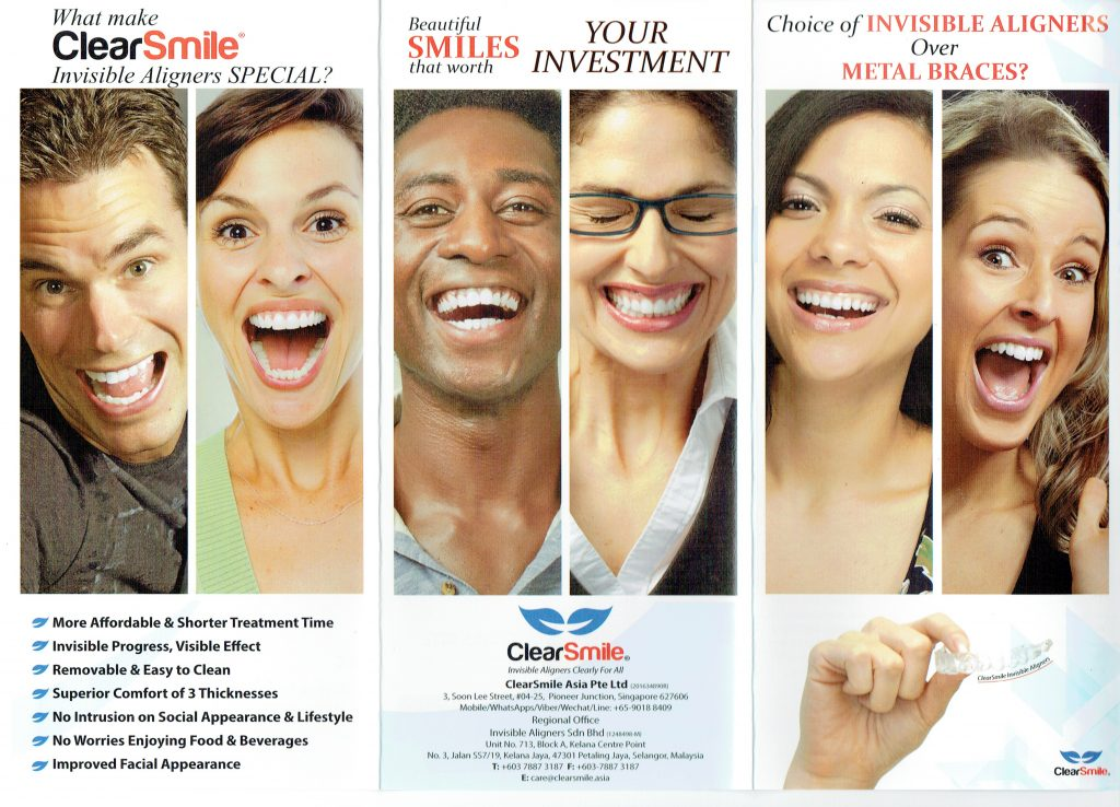 clear aligner , invisible braces